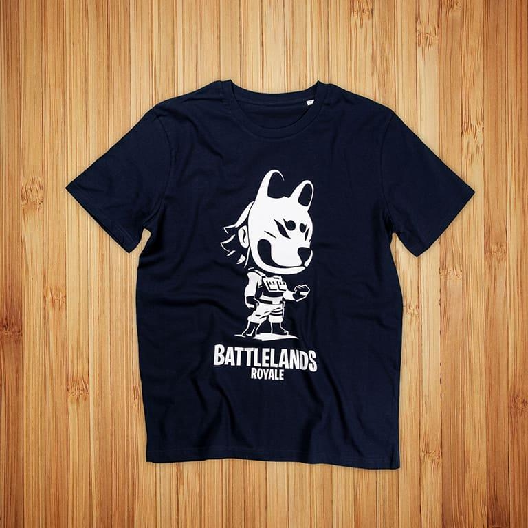 Battlelands Royale t-paidat painatuksella