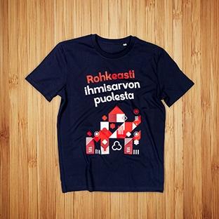 Diakonissalaitos t-paitojen painatus