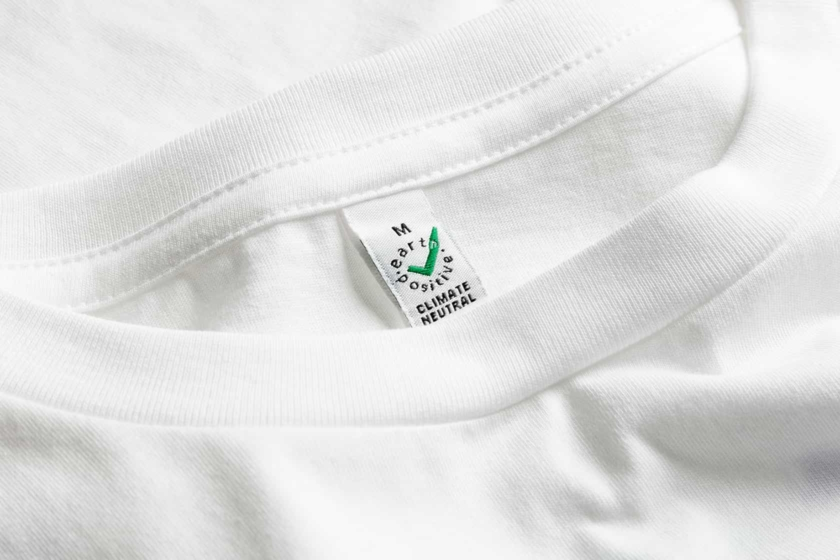 Carbon Trust -sertifioitu t-paita