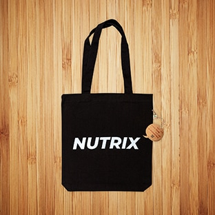 Kangaskassit painatuksella Nutrix