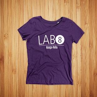 Lab 8, Haaga-Helia t-paidat painatuksella