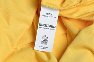 Stanley/Stellan Unisex T-paita Stanley Leads on Fair Wear Foundation sertifioitu