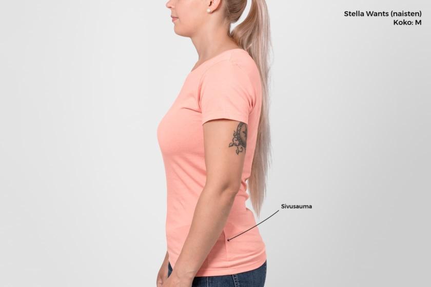 T-paidan sivusauma