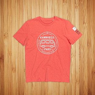 T-paidat painatuksella Kannabispaku