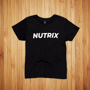 T-paidat painatuksella Nutrix