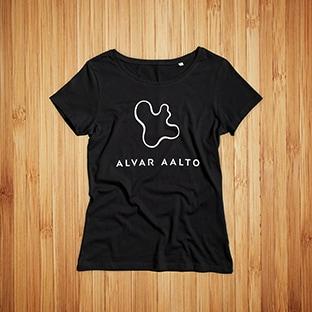 Naisten T-Paidat Painatuksella Alvar Aalto