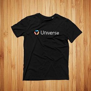 T-Paidat Painatuksella Universe