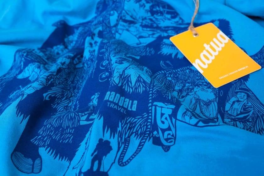 Paitojen painatus vesiohenteisilla väreillä