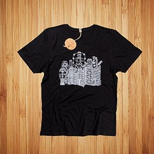 T-paitojen painatus Tornion Panimo, Kierrätysmateriaaleista valmistettu t-paita